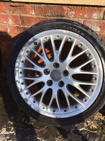 "genuine 18"" BBS speedlines"