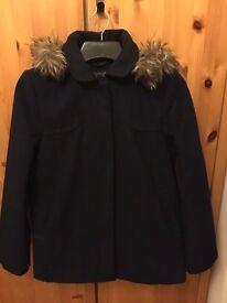 Winter coat - Dark Blue - Size 8