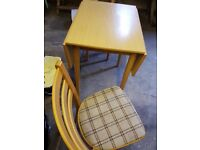 Small nice table and chairs