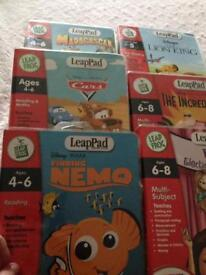 Leap pad, books and cartridges