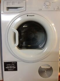 99 Hotpoint TCFM80 8kg White Condenser Tumble Dryer 1 YEAR GUARANTEE FREE DELIVERY