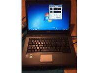 Toshiba Satellite L300 Laptop Win 7 Genuine Office 2013 Genuine 15.4 Inch 4GB Ram