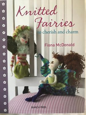 KNITTED FAIRIES~knit pattern book~10 designs~Use scrap yarn~McDonald~HB~dolls for sale  Shipping to India