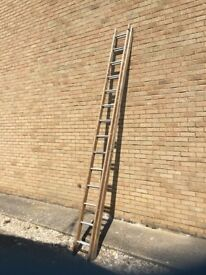 Extendable ladder wo