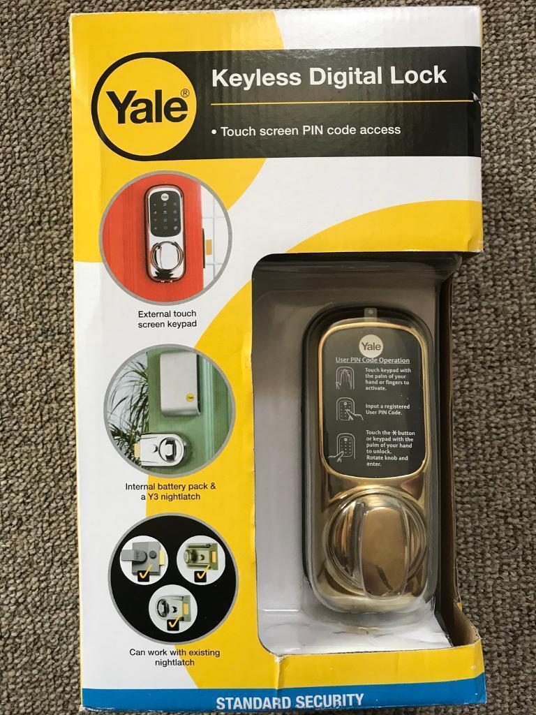 Yale Digital Keypad Door Lock In Belper Derbyshire Gumtree Gold Keyless Electronic