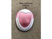 Baby heart beat listener