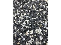 20 mm black ice garden and driveway chips/ stones/ gravel