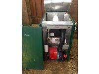 Worcester Greenstar Danesmoor 25/32 External Oil Fired Boiler - baffles jammed