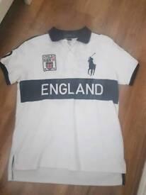 Ralph Lauren England polo shirt Large