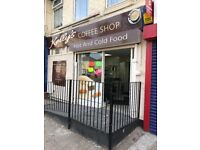 coffee shop / cafe for rent