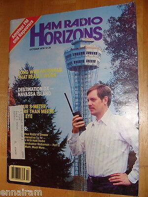 Ham Radio Horizons Magazine October 1979