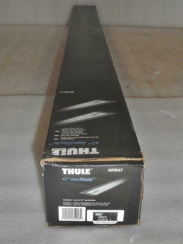 """New THULE ARB47 47"""" AeroBlade 2x 119cm Load Bars (Bars Only)"""