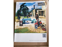 Oasis music song book - Be here now.