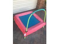Toddler trampoline early learning centre