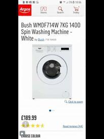 Washing machine, oven