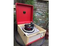 Dansette 'major Mk 2 ' vintage valve Record Player !! Great Vintage Sound!!