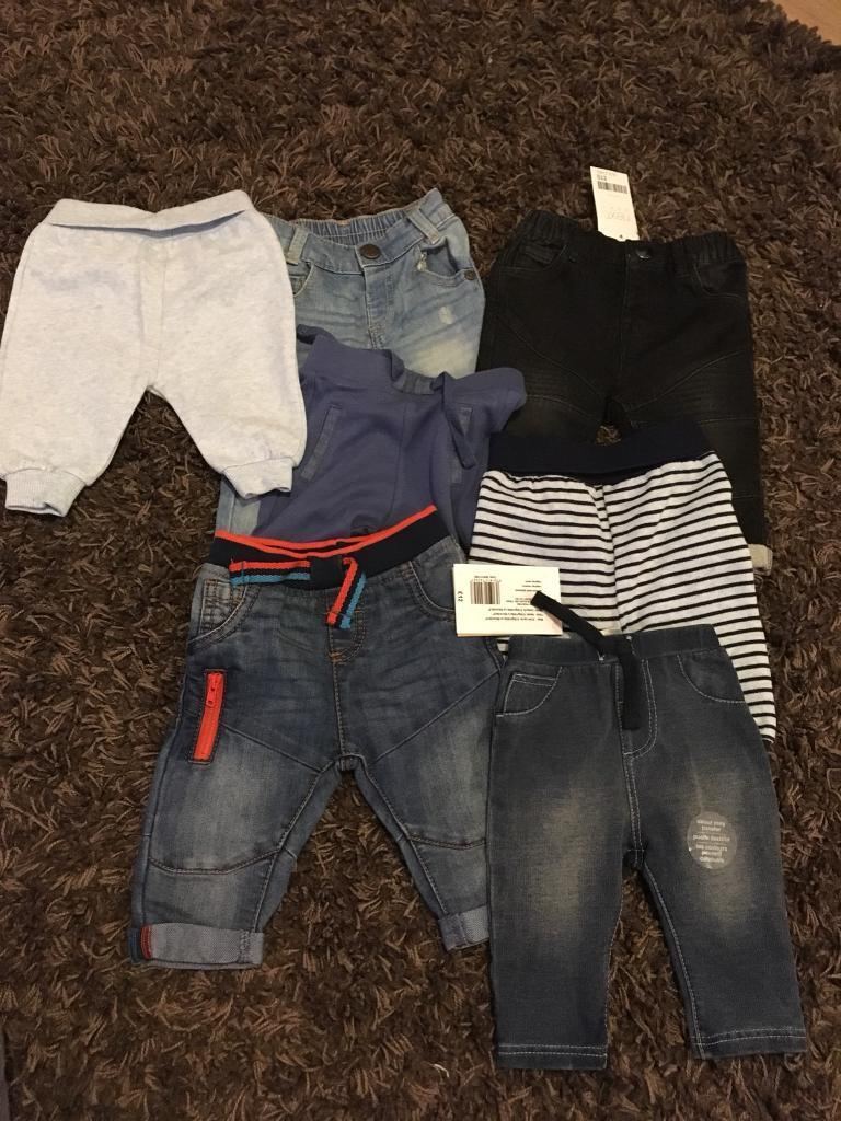 Huge bundle boys 0-3 months clothes