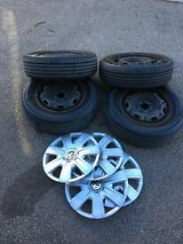 4 X New Tyres Size 175 70 14 Vw Polo