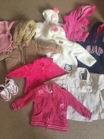 Baby girl clothes 12-18 months (about 100 pcs)