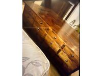 Laura Ashley Garret 12 drawer coffee table and sideboard tv unit