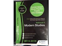 National 5 Modern Studies Model Papers
