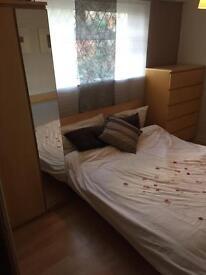 Full bedroom set including double bed , wardrobe