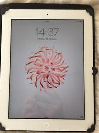 Apple iPad 2 White Unlocked + Case + HDMI