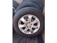 MERCEDES ML ALLOYS 235/65/17,4 NEW MICHELIN TYRES ***AS NEW***