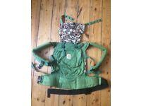 Ergo organic cotton baby sling / carrier