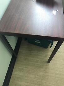 1200mm x 800mm Dark Wood Veneer Tables
