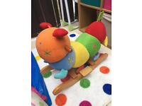 Charlie the rocking caterpillar mothercare