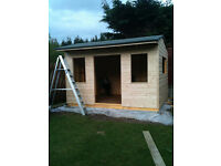 Shed/Summerhouse building,Kitchen Fitting,Tiling,Slabbing,fencing,mono block and general handyman