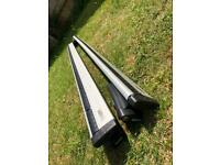 Used, Thule 962 (135cm) Wing Bars & Thule 775 Footpack for sale  Trowbridge, Wiltshire