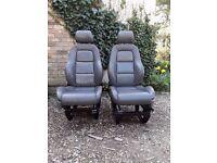 Vw transporter t4 front seats audi tt seats on t4 bases camper campervan van