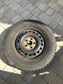 VW T4 wheels and good tires