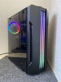Gaming Computer PC Desktop Tower - Intel Core i5 4440, 16GB RAM, GTX 1050Ti 4GB, Win10