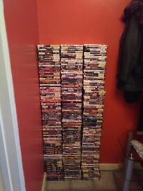 260 dvds and box sets. Everything works perfect