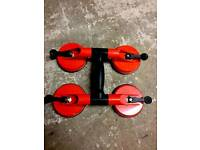 Glazers glass suction lifters/603.0bl glass lifters carriers builders tool