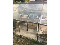 Old glass greenhouse sold as seen buyer to dismantle and take away