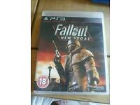 Ps3 game. FALLOUT NEW VEGAS