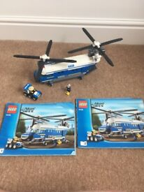 Lego City Police Heavy Lift Helicopter