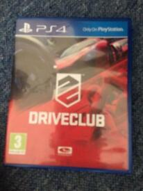 Drive club ps4 game