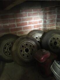 4 original mini wheels