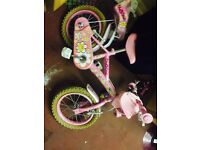 2 Girls outdoor Bikes (3 to 5 yrs) and (5 to 8 yrs) £15 each