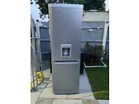 Silver Beko Frost Free Fridge/Freezer With Water Dispenser... ** DELIVERY AVAILABLE **