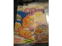 Vintage Care Bears comics 1986 and 1987