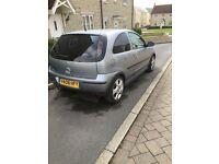 Vauxhall Corsa sxi+ 1.2 twinport 72k miles - half leather seats
