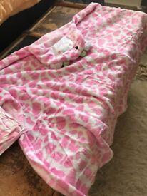 Baby fleece towel