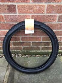 Tracer tyre for bmx