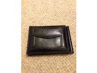 Pocket-size black mens wallet